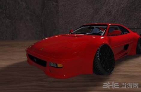 侠盗猎车手5 1994款法拉利F355宽体跑车MOD截图1