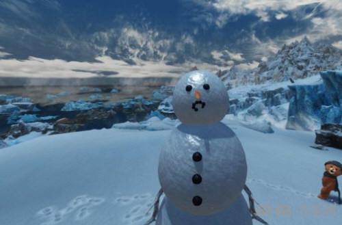 上古卷轴5天际可爱的雪人随从MOD截图1
