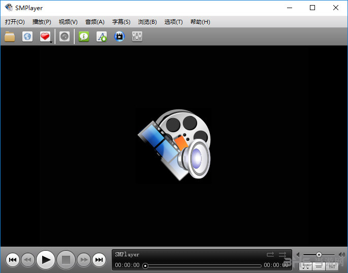 SMPlayer软件界面截图
