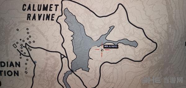 荒野大镖客2地图
