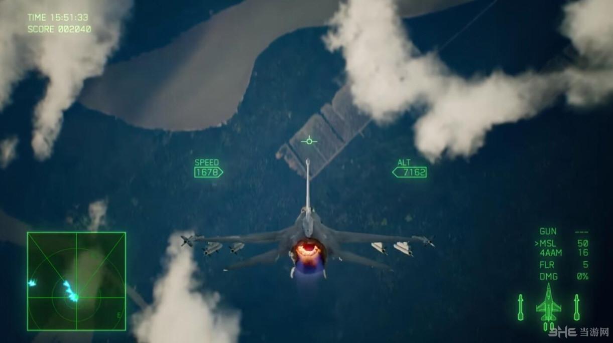 皇牌空战7:未知空域游戏截图3