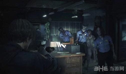 生化危机2重制版游戏截图1