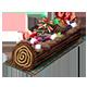 fgo树干蛋糕图片
