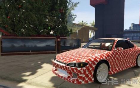 侠盗猎车手5日产Silvias Spec-R圣诞版赛车MOD截图0