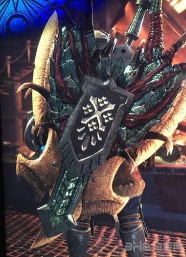 怪物猎人世界尸套龙盾斧ii图鉴 尸套龙盾斧ii属性及素材介绍图片