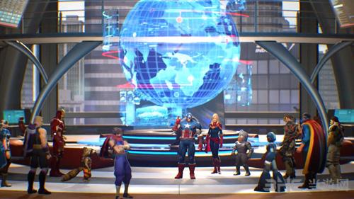 漫画英雄VS卡普空无限游戏图片1