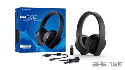 PlayStation新款金耳机样品图