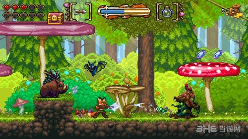 狐狸森林游戏图片3