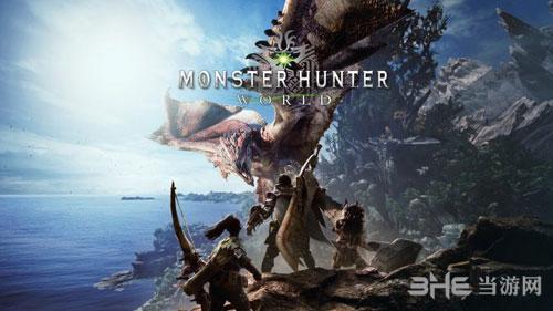 怪物猎人世界游戏宣传画