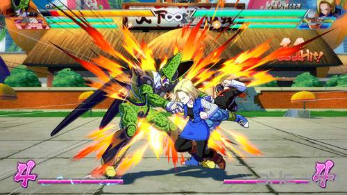 龙珠战士Z游戏画面