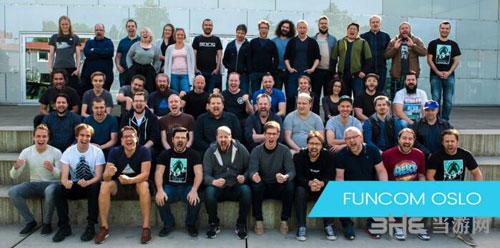 Funcom公司全体职员合照