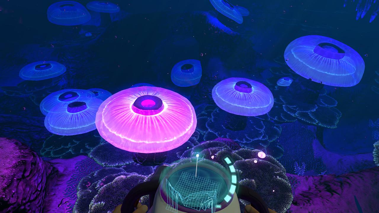 深海迷航蛇菇洞穴在哪 美丽水世界蛇菇区海底世界地图