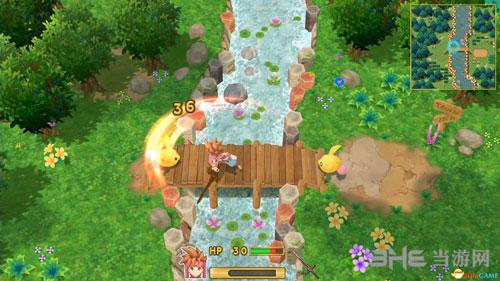 圣剑传说2重置精美游戏画面2