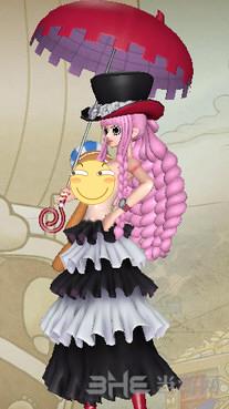 海贼王无双3佩罗娜透明版幽灵套MOD截图0