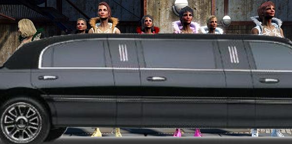 辐射4战区性感舞女服装MOD截图1