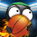火柴人�@球破解版中文 (Stickman Basketball)安卓版v1.1