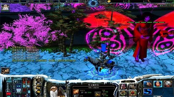 魔兽争霸3冰封王座v1.24魔城之战地图截图0