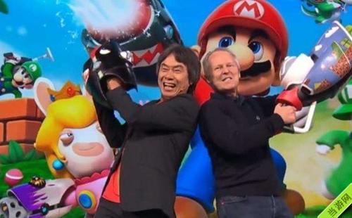 任天堂与育碧的合作游戏《马里奥和疯兔》