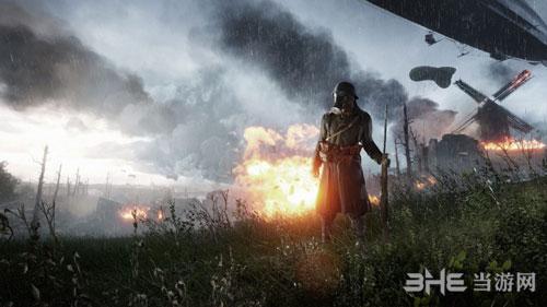 战地游戏宣传图