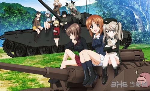 少女与战车:梦幻坦克大会战