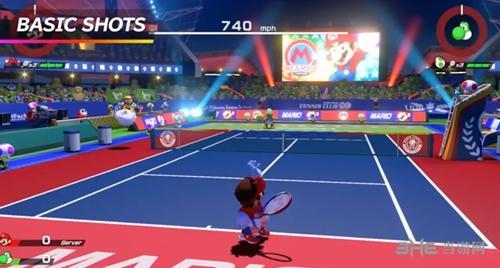 马里奥网球ACES游戏图片3