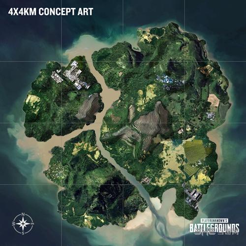 绝地求生新地图游戏图片