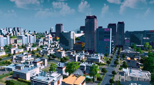 城市:天际线游戏宣传图