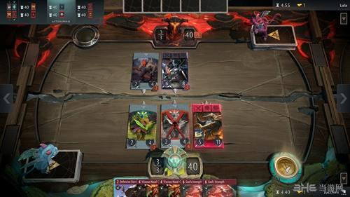 DOTA2卡牌游戏截图2