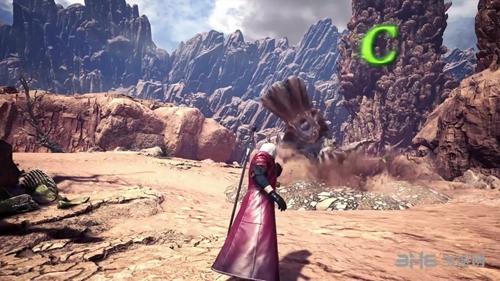 怪物猎人世界联动鬼泣游戏图片5