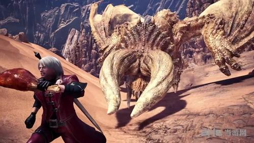 怪物猎人世界联动鬼泣游戏图片7