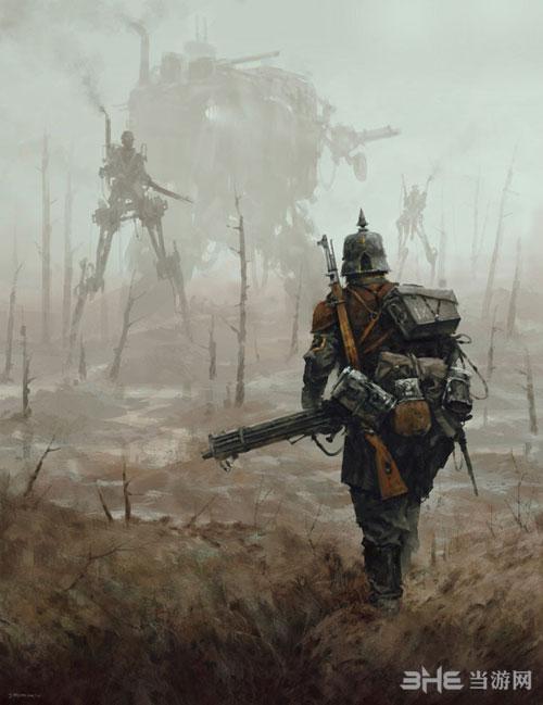 钢铁收割游戏宣传图1