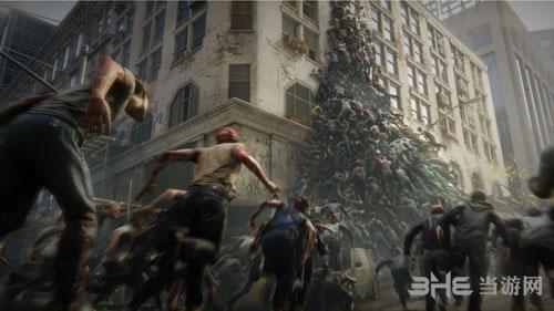 僵尸世界大战游戏宣传图