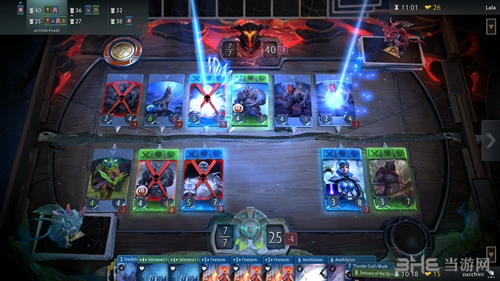 DOTA2卡牌游戏截图1