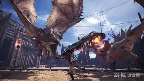 怪物猎人世界游戏图片2