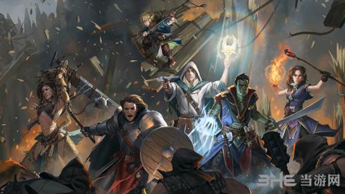 开拓者拥王者游戏宣传图
