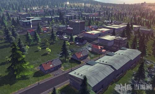 城市天际线游戏宣传图