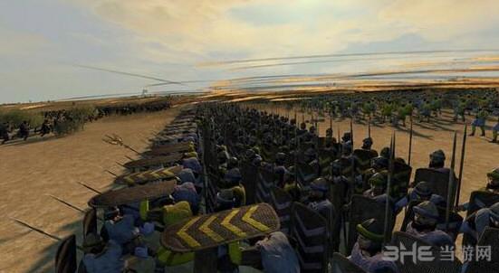 阿提拉:全面战争更符合历史的阵型加强MOD截图0