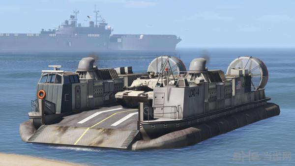 侠盗猎车手5美军LCAC气垫登陆艇MOD截图2