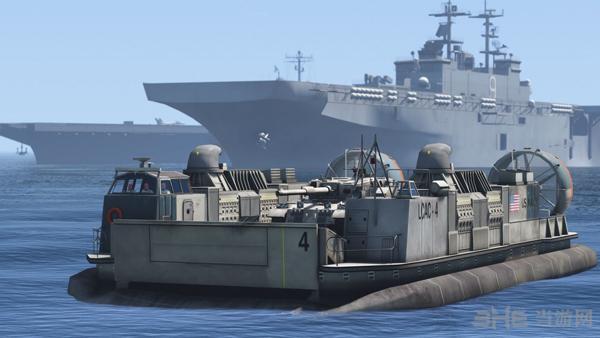 侠盗猎车手5美军LCAC气垫登陆艇MOD截图3