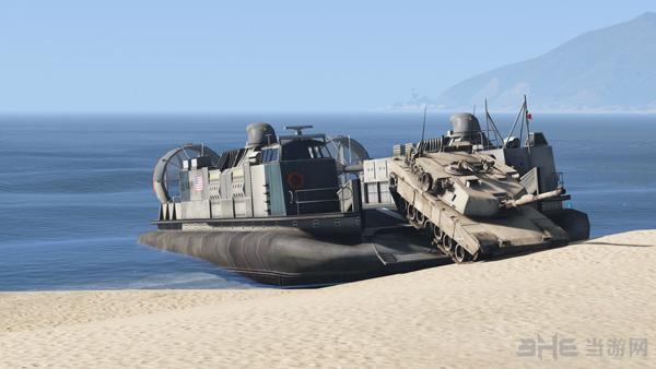 侠盗猎车手5美军LCAC气垫登陆艇MOD截图0