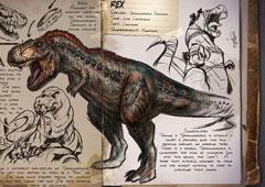 方舟生存进化手机版霸王龙怎么抓 霸王龙驯服属性介绍