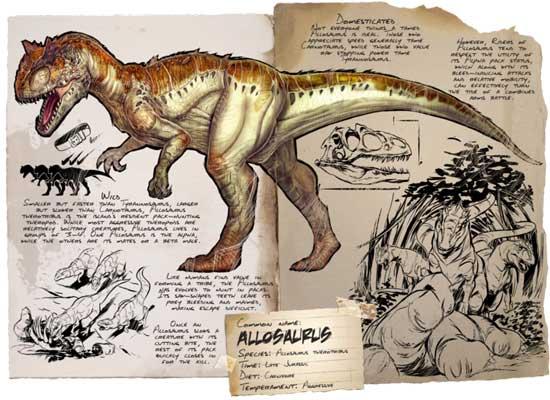 方舟生存进化异特龙截图