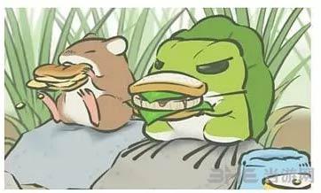 旅行青蛙稀有明信片图片2