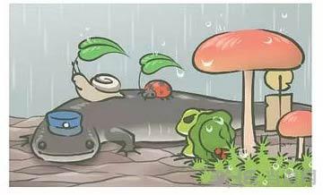 旅行青蛙稀有明信片图片5