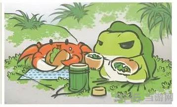 旅行青蛙稀有明信片图片7