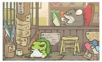 旅行青蛙稀有明信片图片8