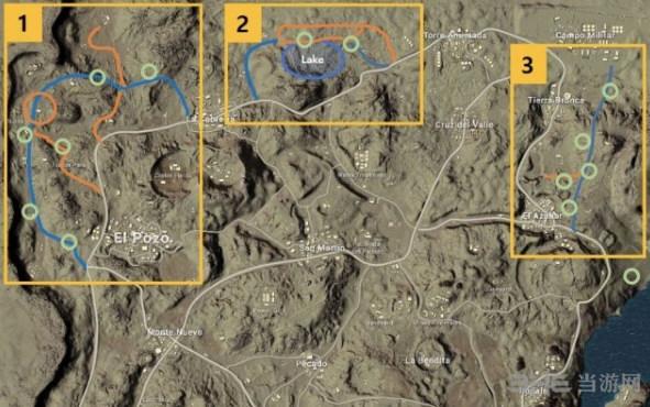 绝地求生沙漠地图调整
