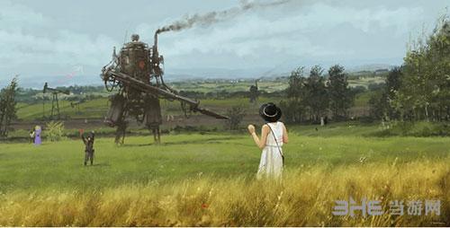 钢铁收割游戏宣传图