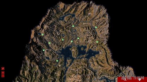 孤岛惊魂5收集唱片地图