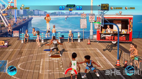 NBA游乐场2游戏截图